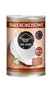 Mleko kokosowe 86% 400 ml Mr.Ming