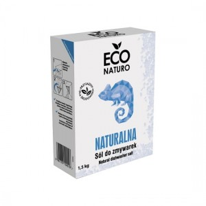Naturalna sól do zmywarek 1,5kg Eco Naturo